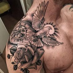 erkek omuz dövmeleri man shoulder tattoos 28