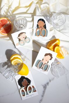 Handcrafted small-batch clay statement jewelry for the modern woman. Polymer Clay Crafts, Polymer Clay Jewelry, Diy Clay Earrings, Diy Crafts Hacks, Diy Projects, Jenner, Jewelry Packaging, Diy Gifts, Statement Jewelry