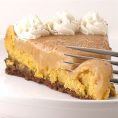 Butterscotch Caramel Cheesecake--- YUM!