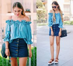 Get this look: http://lb.nu/look/8424605  More looks by Marta M: http://lb.nu/user/169991-Marta-M  Items in this look:  Sheinside Top, Sheinside Skirt, Bubble Platforms   #casual #chic #street