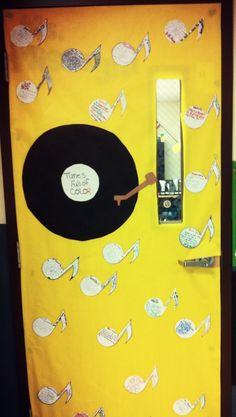 Black History Month door