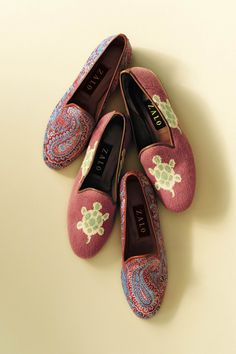 Loafers! Would be mighty cute with slim dark jeans.