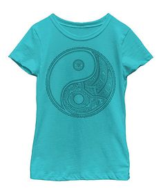 Love this Tahiti Blue Yin-Yang Tee - Toddler & Girls on #zulily! #zulilyfinds