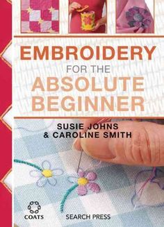 The book introduces the reader to many different stitchery techniques from simple cross stitch to intricate pulled threadwork. Some of the techniques are useful for making decorative borders, while ot #Embroideryforbeginners