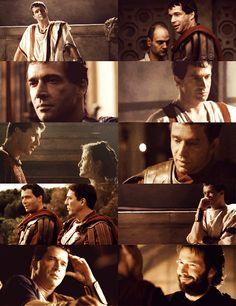 Mark Antony Compilation - HBO's Rome Rome Tv Series, Hbo Series, Rome Hbo, Ray Stevenson, Mark Antony, James Purefoy, Uk Actors, Actor James, The Far Side