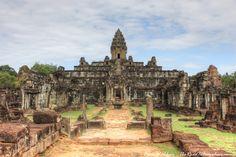 Temple of Bakong in Angkor, Cambodia