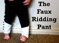 Free Sewing Patterns: Faux Riding Pants
