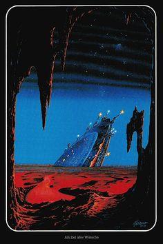Alfred Kelsner, Category citation index daily direct experiments fiction hub Retro Kunst, Retro Art, Sci Fi Kunst, Science Fiction Kunst, Arte Sci Fi, Trippy, Sci Fi City, Les Reptiles, 70s Sci Fi Art