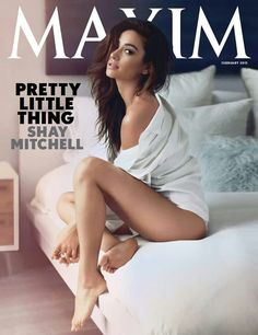 Shay mitchsll in maxim