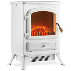 IN STOCK: best prices on VonHaus Electric Fireplace Stove Heater with Flame Effect White, - Portable Freestanding Fire Place Log Burner Light - choose between 24 Electric fireplaces Portable Electric Heaters, Portable Heater, Small Stove, Small Electric Stove, Electric Fireplace Heater, Electric Fireplaces, Stove Heater, Radiator Heater, Bike Storage Rack