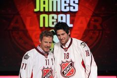 "James Neal gets Team Alfredsson in the NHL All Star Game ""Draft""!! So glad James got invited!!!"