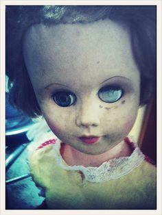 Creepy @Julie Forrest Forrest U. Gillen