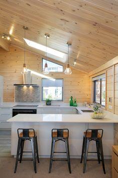 Stunning modern kitchen in Lockwood show home