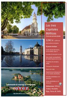 Capitales del Báltico en privado 2014 ultimo minuto - http://zocotours.com/capitales-del-baltico-en-privado-2014-ultimo-minuto/