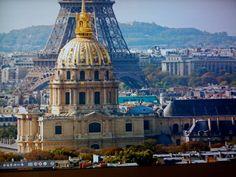 Dôme des Invalides et tour Eiffel