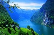 Fjord Norway has its name from the many beautiful fjords. But what exactly is a fjord? And how were they created? A fjord is a deep, narrow and elongated sea or lakedrain, with steep land on three… Places To Travel, Places To See, Beautiful World, Beautiful Places, Beautiful Norway, Amazing Places, Beautiful Scenery, Amazing Photos, Romantic Places