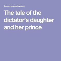"""The tale of the dictator's daughter and her prince. """"...This is not a """"moderating influence""""; this is complicity..."""" """"...Trump did not drain the swamp; he merely made it into a moat that protects his family..."""""""