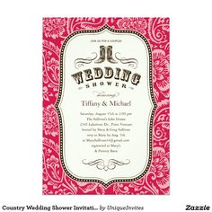 10 best couples wedding shower invitations images on pinterest country wedding shower invitations stopboris Choice Image