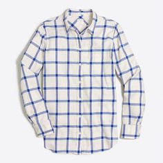 Flannel shirt in boy fit