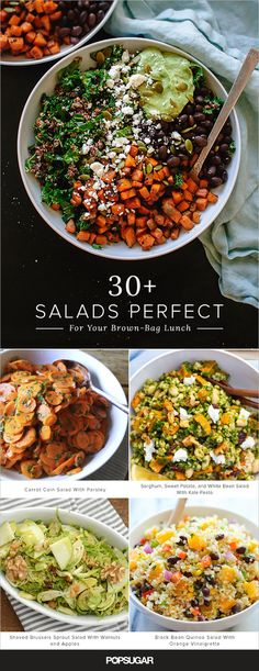 Make-Ahead Salad Recipes | POPSUGAR Food