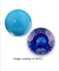 The lucky December birthday girl has two gorgeous gemstones to choose from- turquoise and tanzanite!