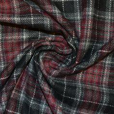 Red/Black Aberdeen Fabric