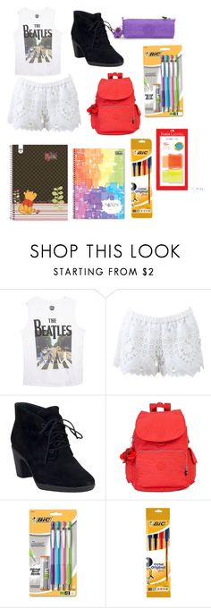 """""""Untitled #279"""" by princessvreni ❤ liked on Polyvore featuring Wet Seal, Alexis, Clarks, Kipling and Kori"""