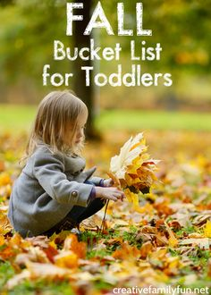 Get ready to have some simple family fun this autumn with this Fall Bucket List for Toddlers. The activities are simple and so much fun. Physical Activities For Kids, Creative Activities For Kids, Toddler Activities, Art Activities, Thanksgiving Activities For Kids, Autumn Activities For Kids, Happy Mom, Happy Kids, Happy Fall