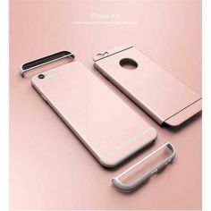 UCASE Ultra Thin 3 In 1 Circle Hard Plastic Case For iPhone 6 6S