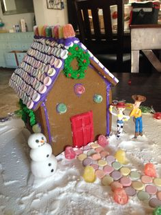 Image result for toy story gingerbread house