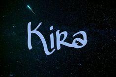 Kira / Sanskrit: beam of light (keer-ah) pin by Alesha Steen