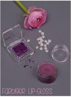farbiger Lip-Gloss | colored lip gloss