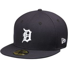 Miguel Cabrera Detroit Tigers New Era Name & Number 59FIFTY Fitted Hat - Navy