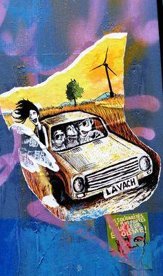 Street art - paris 11, rue de vaucouleurs (juin 2013)