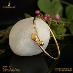 Gold 916 Premium Design Get in touch with us on Gold Jewelry Simple, Gold Rings Jewelry, Sterling Silver Jewelry, Gold Necklaces, Hammered Silver, Silver Ring, Gold Bangles Design, Gold Jewellery Design, Gold Mangalsutra Designs