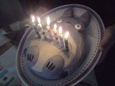 Why doesn't anyone love me enough to make me a totoro birthday cake