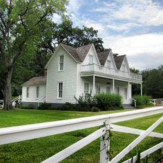 President Eisenhower's house in Denison, Texas