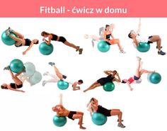 Fitball - ćwicz w domu
