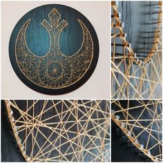 Star Wars string art available to buy http://www.ebay.co.uk/itm/112311384789