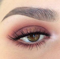 Soft pink purple eye makeup