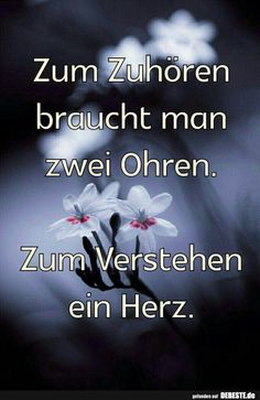 But there are people who are missing the heart ! And even worse the soul - Zitate - Blumen Quotes And Notes, Words Quotes, Life Quotes, Sayings, Birthday Wishes Messages, German Quotes, Life Is Hard, True Words, Happy Life