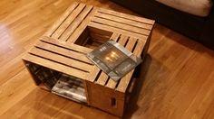Crate Coffee Table von AlstenCraftMart auf Etsy