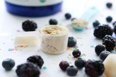 Purple Postpartum Protein Shake to boost your milk supply - Joyful Messes - Baby Grim - Pregnancy Healthy Milk, Healthy Ice Cream, Healthy Treats, Pregnant And Sick, Pregnant Diet, Postpartum Workout Plan, Postpartum Body, Boost Milk Supply, Increase Milk Supply