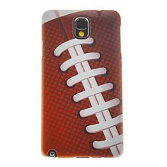 American Football Pattern Protective Case for Samsung Galaxy Note 3 N9000 - Cheap Galaxy Note 3 Cases - Samsung Galaxy Note 3 Cases - Samsun... Note 3 Case, Samsung, Galaxy Note 3, Design Case, New Toys, American Football, Protective Cases, Galaxies, Chanel