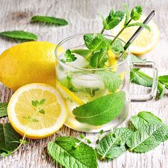 Iced Peppermint Tea http://www.womenshealthmag.com/weight-loss/drinks-to-lose-belly-fat/slide/3