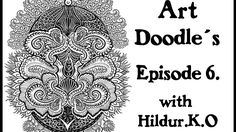 Watch me draw for my coloring book with Hildur.K.O - Episode 6  #illustration  #youtube  #doodles  #abstract #timelapse  #artwork #meditation #coloringforadults #coloringpage #stepbystep