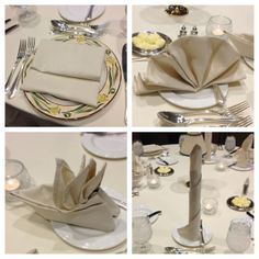 how to make sydney opera house napkins