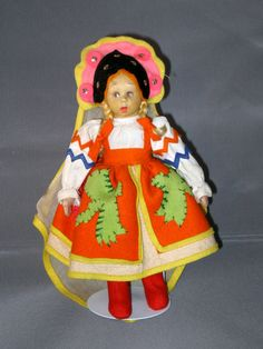 Lenci Russian Girl (Maruska) later
