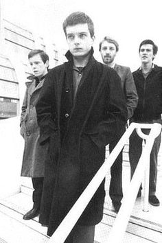 Joy Division, Paris, December This picture says it all. Ian Curtis was one troubled man. Poetic punk runk they were. The spark that created New Order. Ian Curtis, Natalie Curtis, New Wave, Joy Division, Punk Rock, Rock Indé, Music Is Life, My Music, Indie