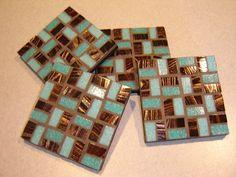 Mosaic coasters!